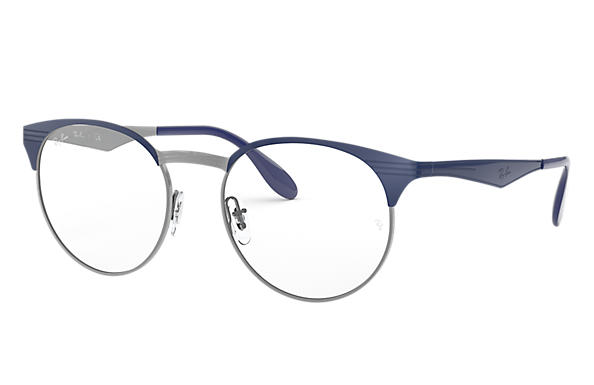 Ray-Ban 0RX6406-RB6406 Blau,Gunmetal OPTICAL