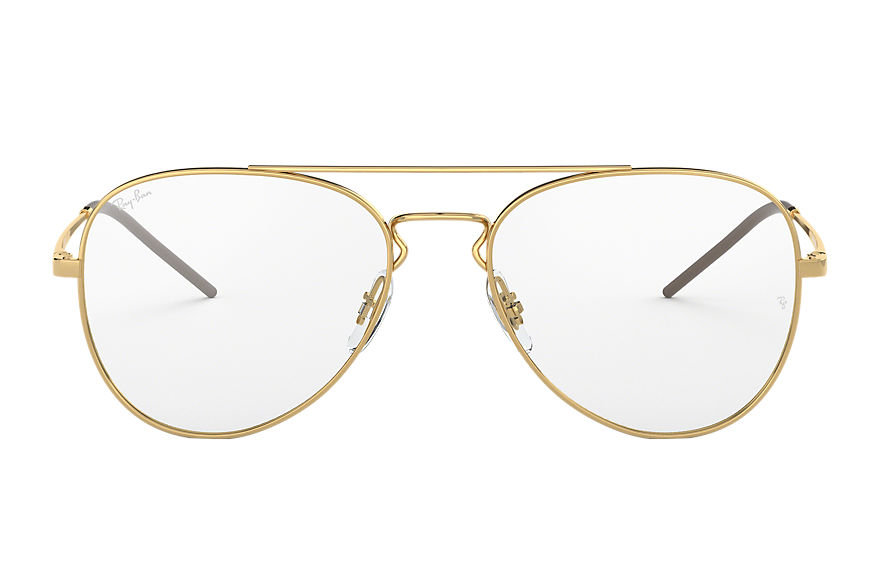 Ray-Ban  eyeglasses RX6413 UNISEX 004 rb6413 gold 8053672862928