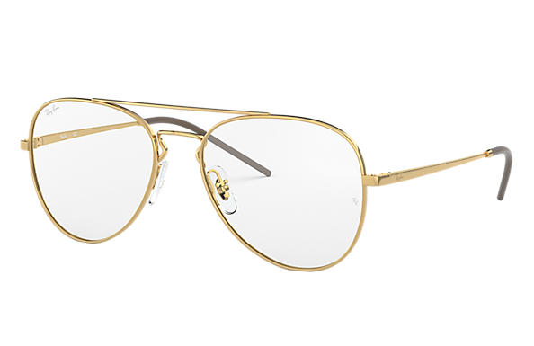 Ray-Ban 0RX6413-RB6413 Gold OPTICAL