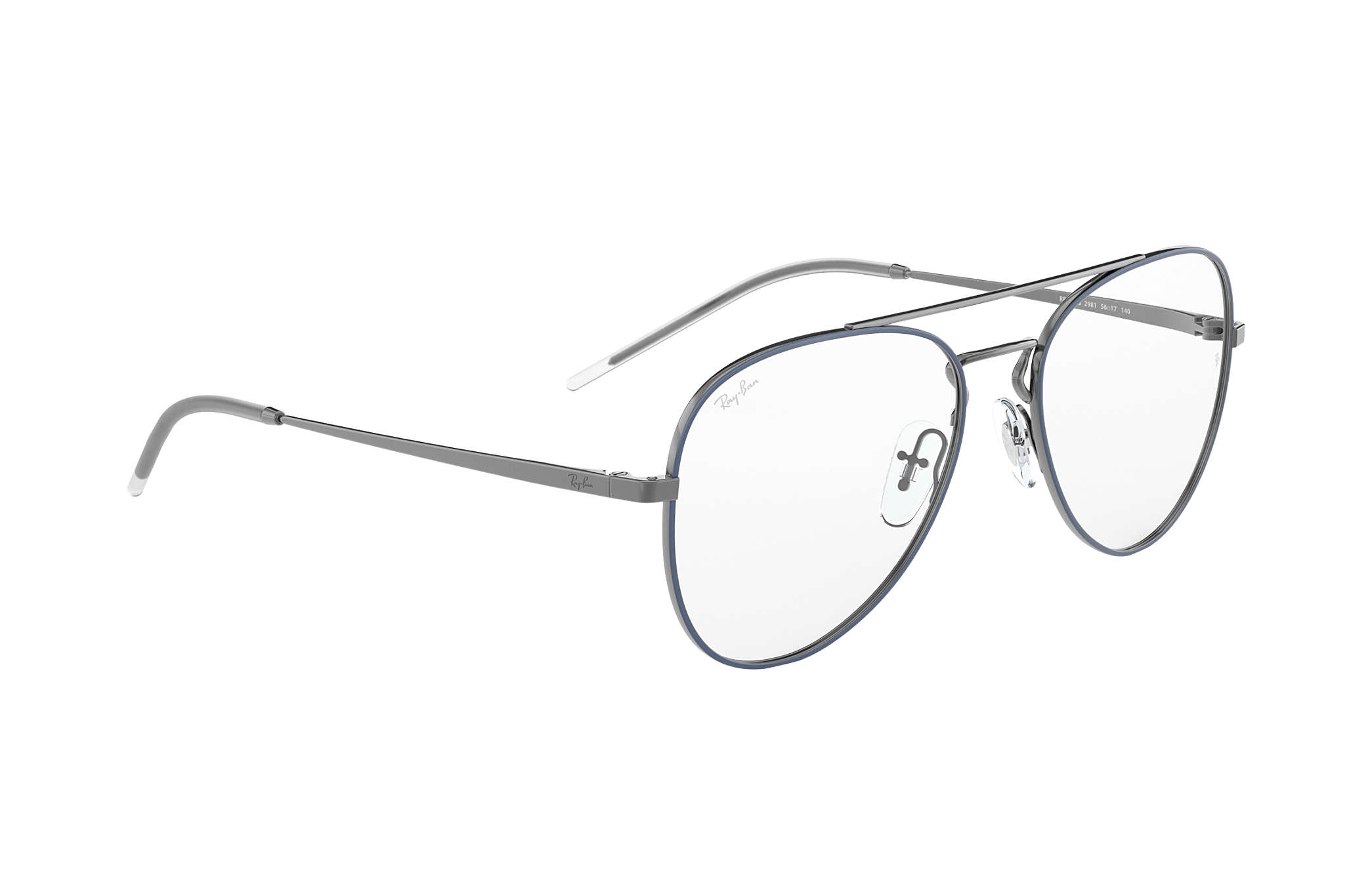 eb260bc8e4 Ray-Ban eyeglasses RB6413 Blue - Metal - 0RX6413298154
