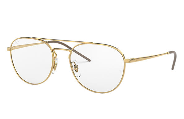 Ray-Ban 0RX6414-RB6414 Gold OPTICAL