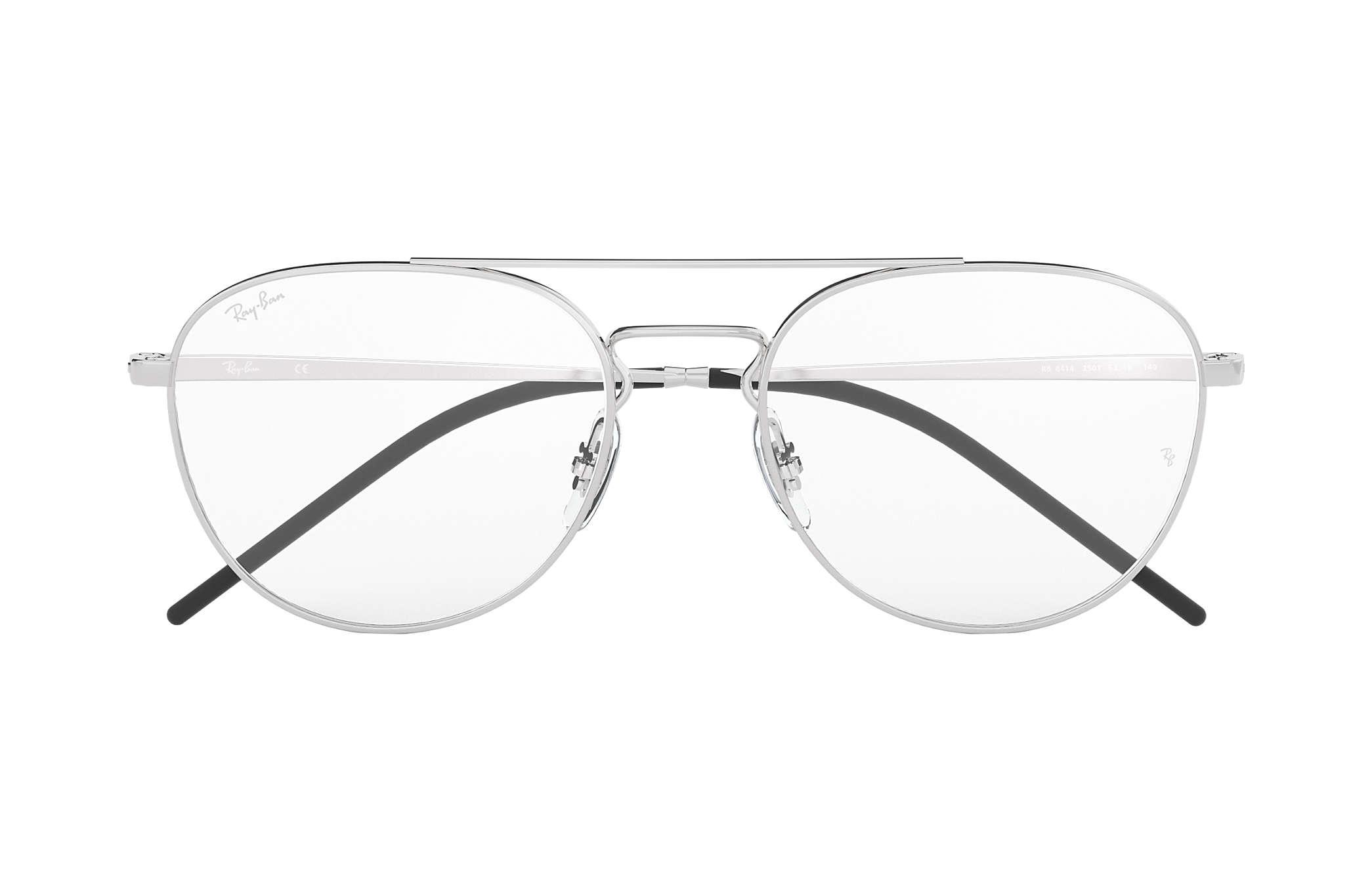 3f4e994a55 Ray-Ban bril RB6414 Silver - Metal - 0RX6414250153
