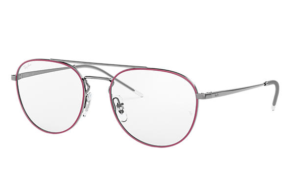 Ray-Ban 0RX6414-RB6414 Bordeaux,Gunmetal; Gunmetal OPTICAL