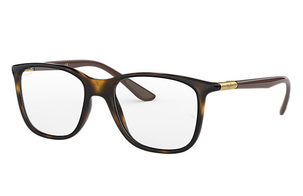 Ray-Ban 0RX7143-RB7143 Tartaruga; Marrone OPTICAL