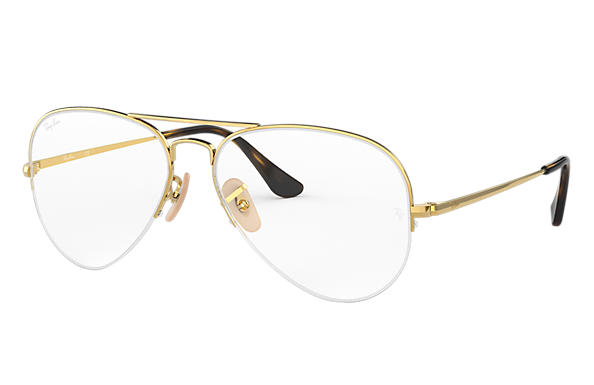 Ray-Ban 0RX6589-AVIATOR GAZE Gold OPTICAL