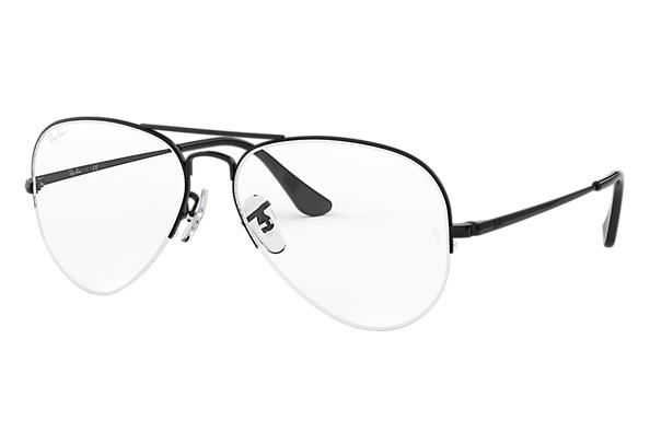 Ray-Ban 0RX6589-AVIATOR GAZE Noir OPTICAL