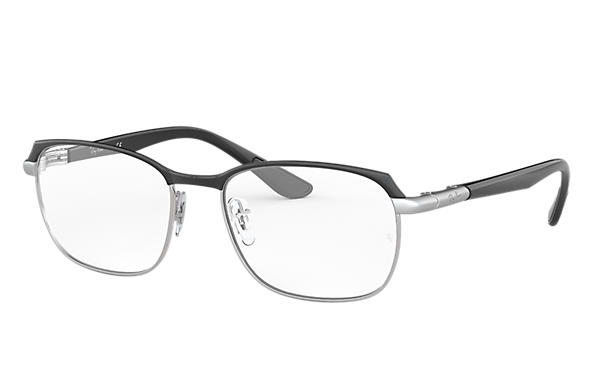 Ray-Ban 0RX6420-RB6420 Black,Silver; Black OPTICAL