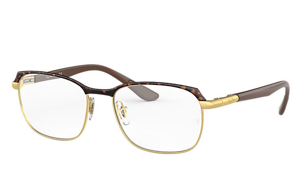 Ray-Ban 0RX6420-RB6420 Tortoise,Gold; Brown OPTICAL