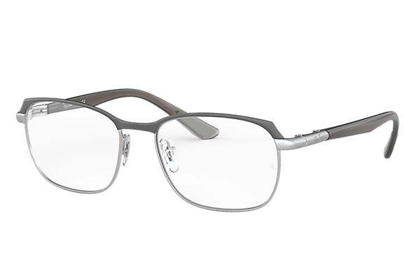 Ray-Ban 0RX6420-RB6420 Gris,Argent; Gris OPTICAL