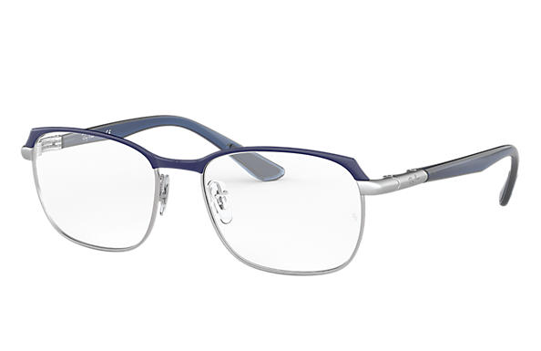 Ray-Ban 0RX6420-RB6420 Bleu,Argent; Bleu OPTICAL