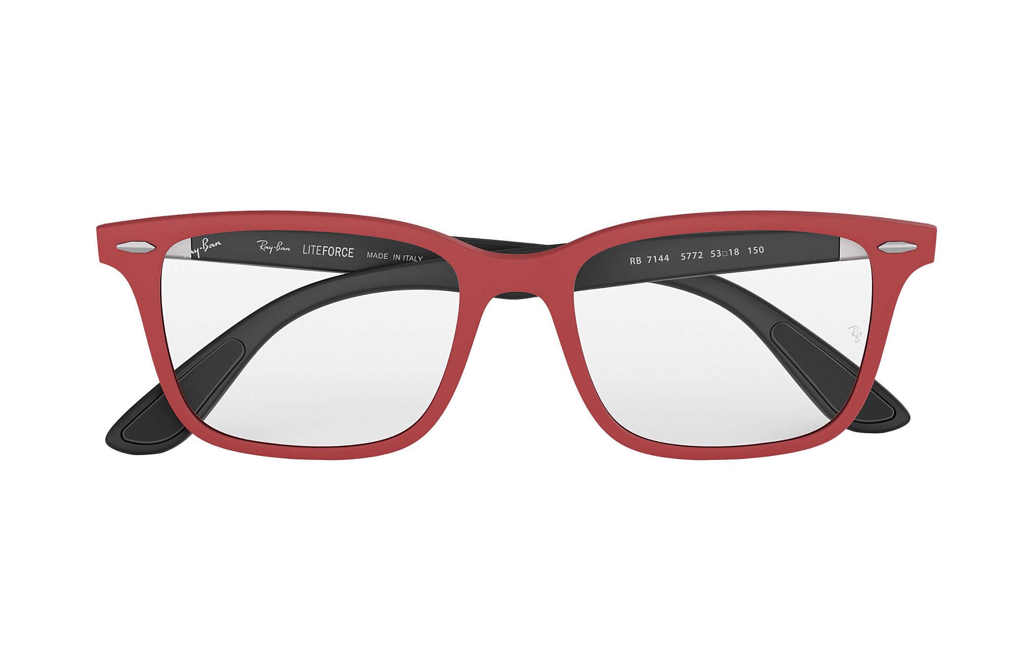 529ef585512 Ray-Ban eyeglasses RB7144 Red - Peek - 0RX7144577253