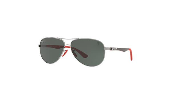 2c5be294845 Ray-ban Rb8313m Scuderia Ferrari Aviator Sunglasses Black