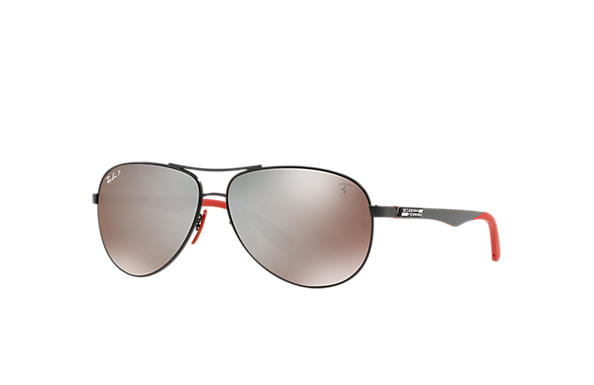 Ray-Ban 0RB8313M-RB8313M SCUDERIA FERRARI MY GP17 LTD Black; Black,Red SUN