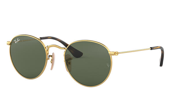 Ray-Ban 0RJ9547S-ROUND METAL JUNIOR Oro SUN
