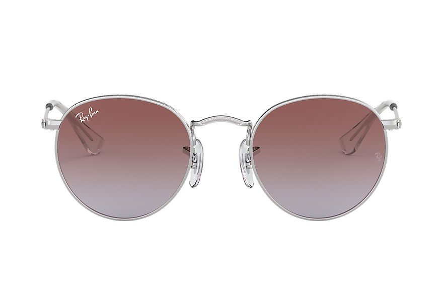 Ray-Ban  sunglasses RJ9547S CHILD 005 round metal junior silver 8053672865943