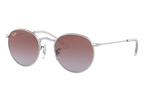 Ray-Ban 0RJ9547S-ROUND METAL JUNIOR Argento SUN