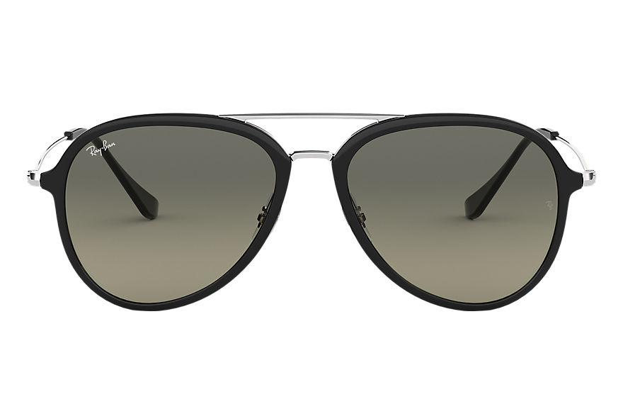 Ray-Ban Sunglasses RB4298 Black with Grey Gradient lens