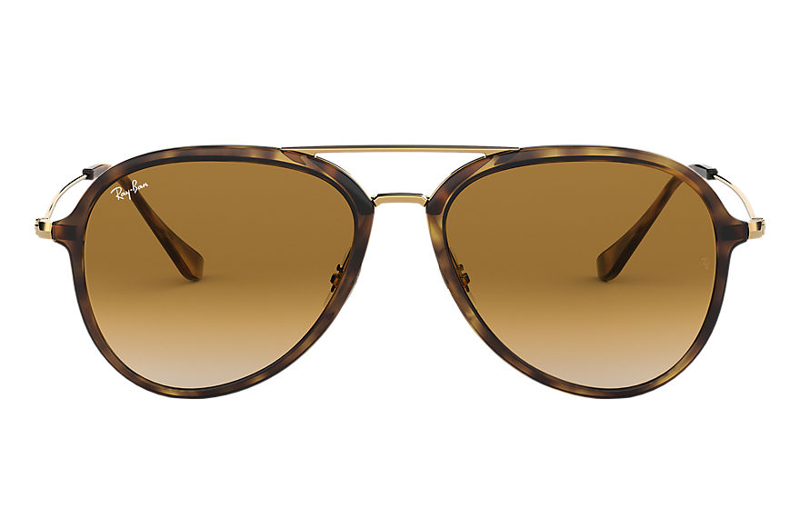 Ray-Ban Sunglasses RB4298 Tortoise with Light Brown Gradient lens