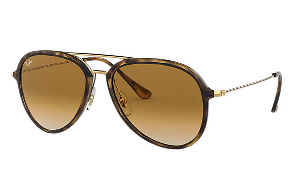 Ray-Ban RB4298 Tortoise - Nylon - Light Brown Lenses - 0RB4298710 ... 3ae68f6bbf