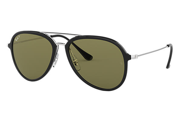 Ray-Ban 0RB4298-RB4298 Black; Silver SUN