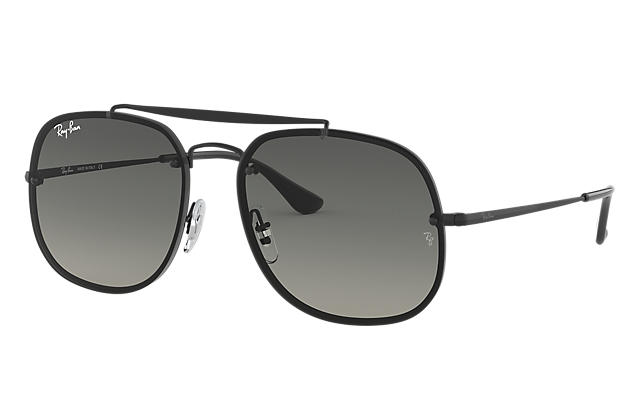 3ed4803af70 Ray-Ban BLAZE GENERAL RB3583N Black - Steel - Grey Lenses ...