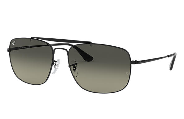 b96b384f77 Ray-Ban Colonel RB3560 Gold - Steel - Light Blue Lenses - 0RB3560001 3F58