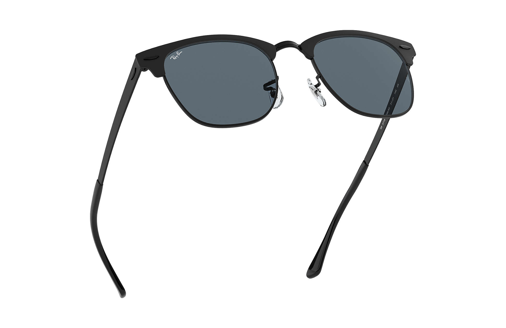 febde65a0efcb ... discount code for ray ban 0rb3716 clubmaster metal black sun 622d4 953d4