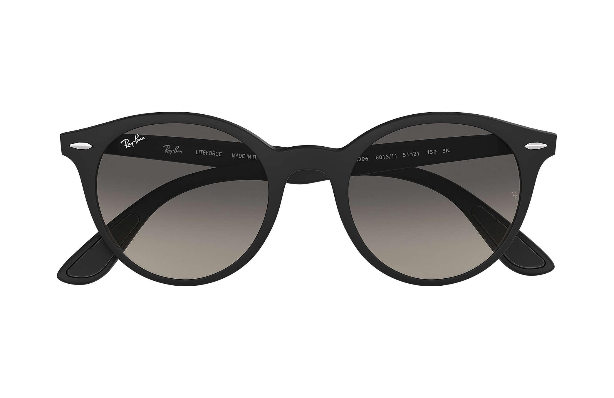 a0f4ed0c83 Ray-Ban RB4296 Black - Peek - Grey Lenses - 0RB4296601S1151