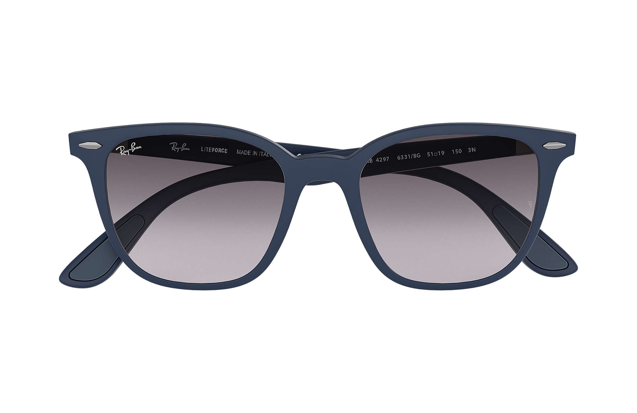9d5d504e27 Ray-Ban RB4297 Blue - Peek - Grey Lenses - 0RB429763318G51