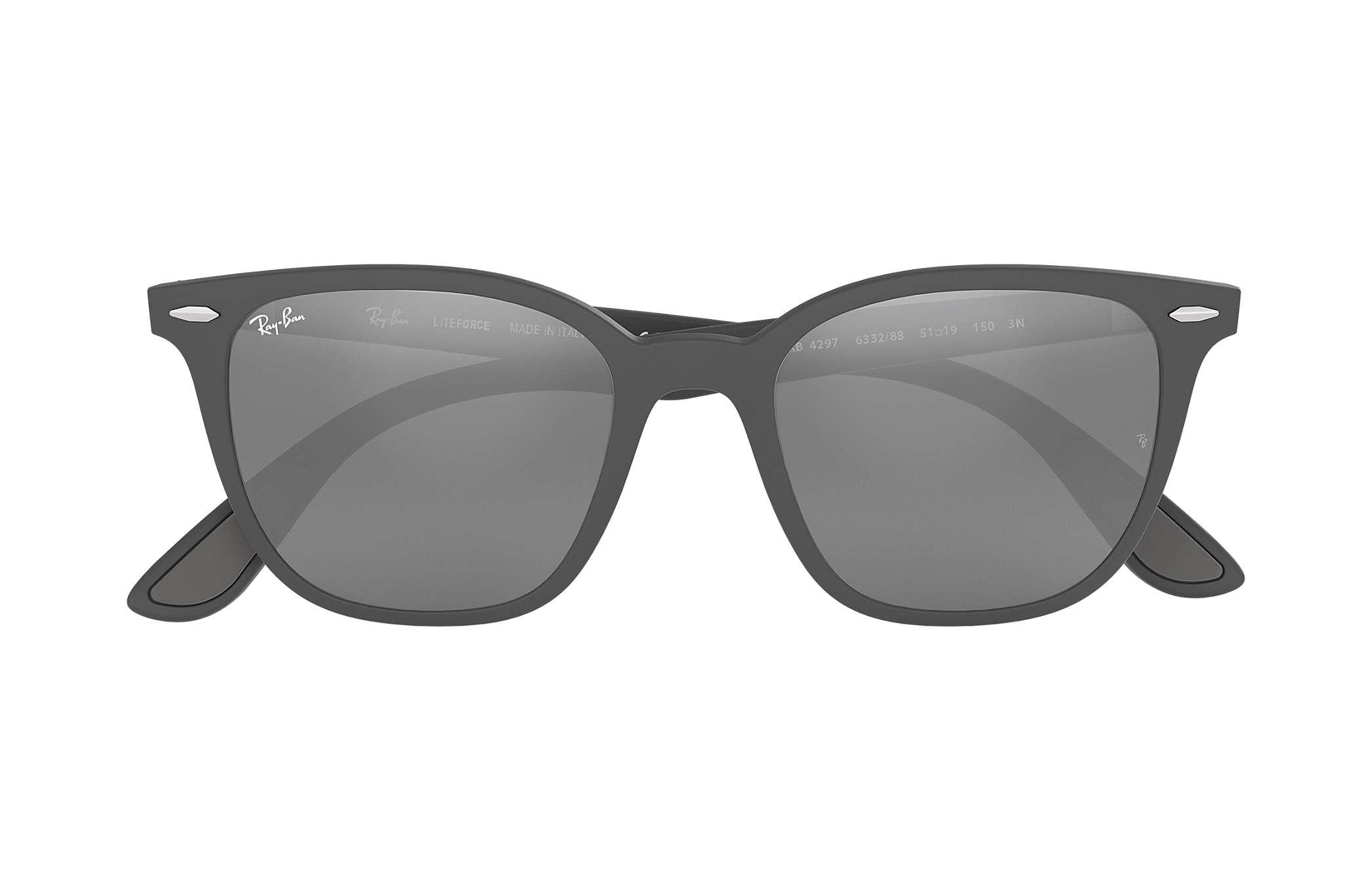 58fbf2ecae Ray-Ban RB4297 Grey - Peek - Grey Lenses - 0RB429763328851