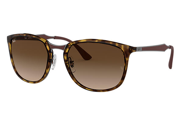 Ray-Ban 0RB4299-RB4299 Tortoise; Gunmetal,Brown SUN