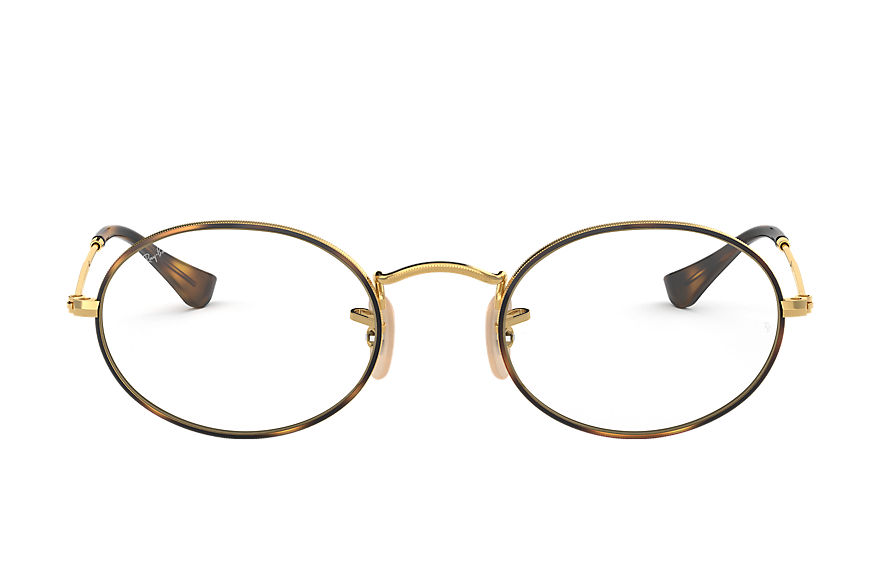 Ray-Ban Eyeglasses OVAL OPTICS Tortoise