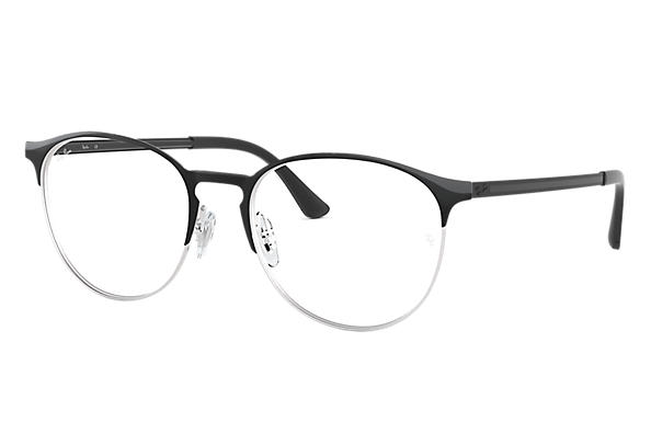 Ray-Ban 0RX6375-RB6375 Noir,Argent; Noir OPTICAL