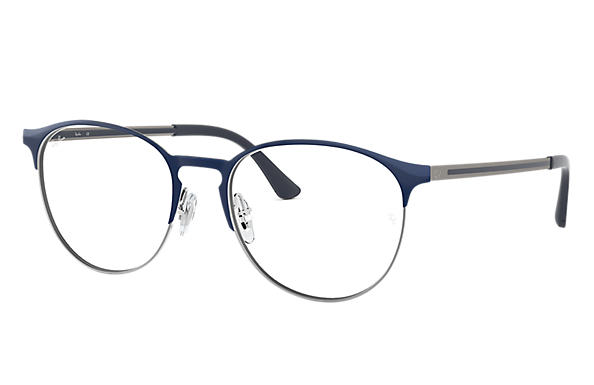 Ray-Ban 0RX6375-RB6375 Blau,Gunmetal; Gunmetal,Blau OPTICAL