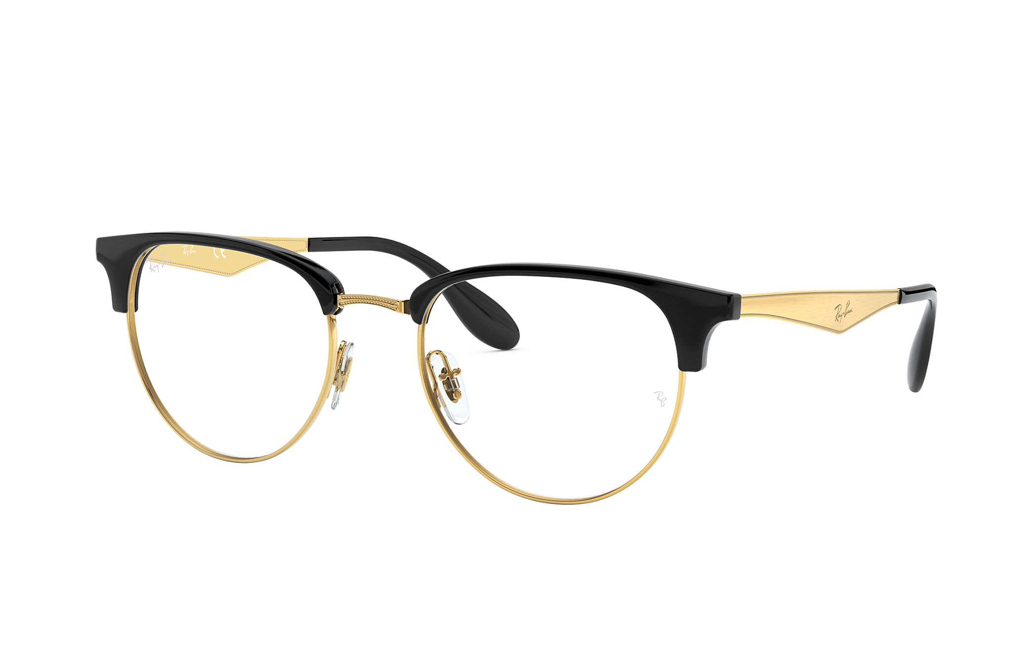580bf1eb6a Ray-Ban prescription glasses RB6396 Black - Metal - 0RX6396578451 ...