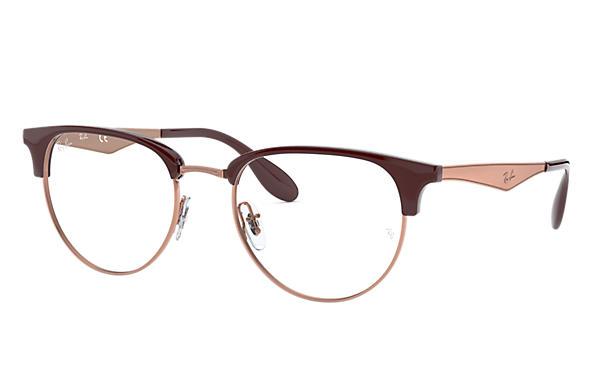 cd3a3df9936 Ray-Ban prescription glasses RB6396 Brown - Metal - 0RX6396578653 ...