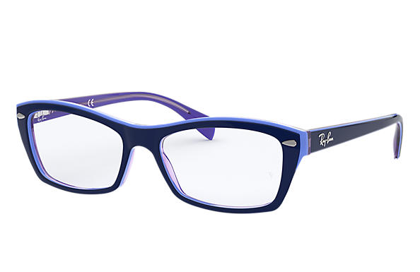 Ray-Ban 0RX5255-RB5255 Blue,Violet OPTICAL