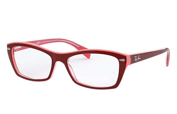 Ray-Ban 0RX5255-RB5255 Viola-Rosso OPTICAL