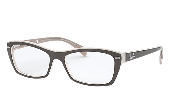 Ray-Ban 0RX5255-RB5255 Gris,Marron clair OPTICAL