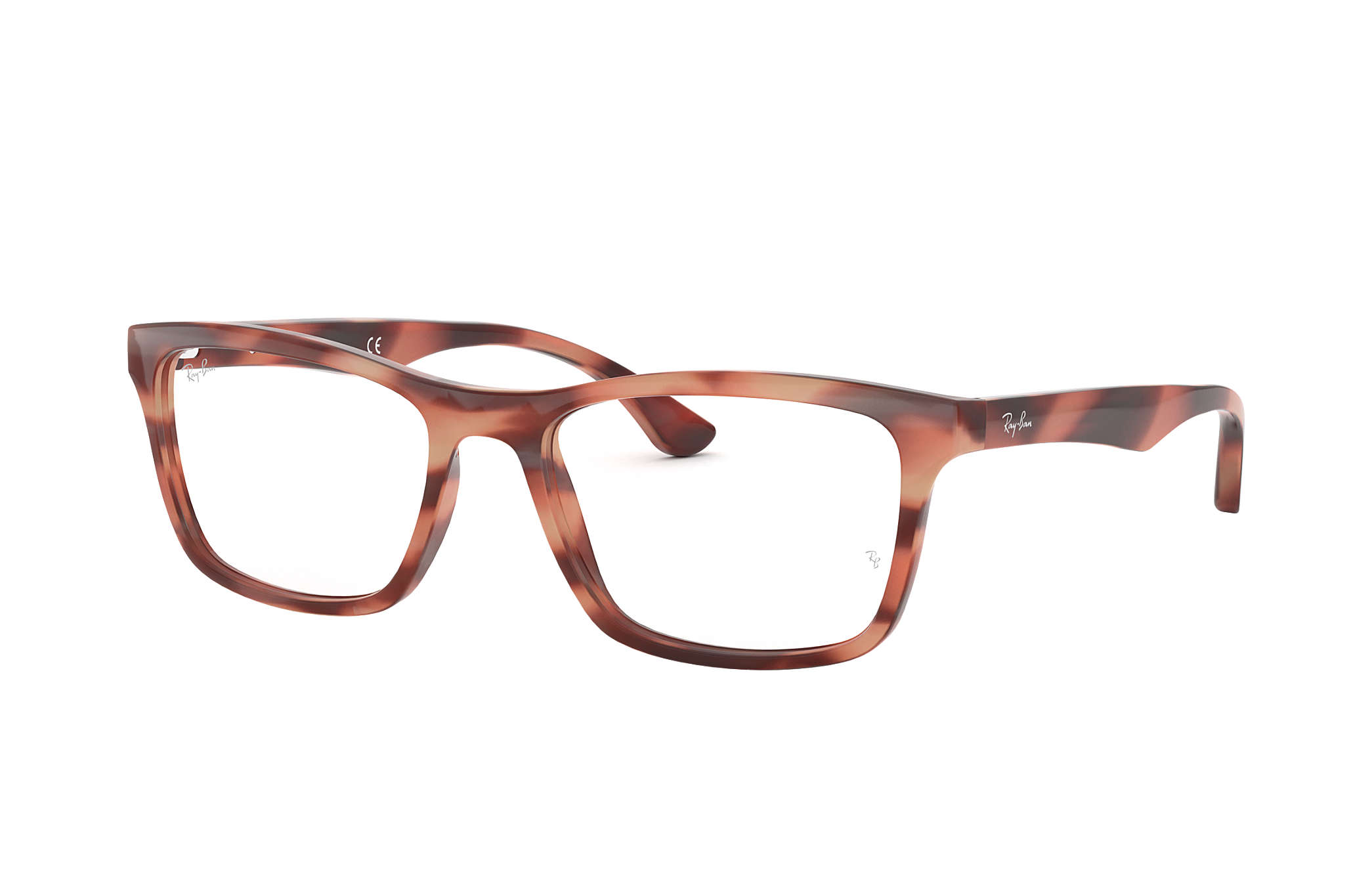 4257be94ef Ray-Ban prescription glasses RB5279 Pink - Acetate - 0RX5279577455 ...