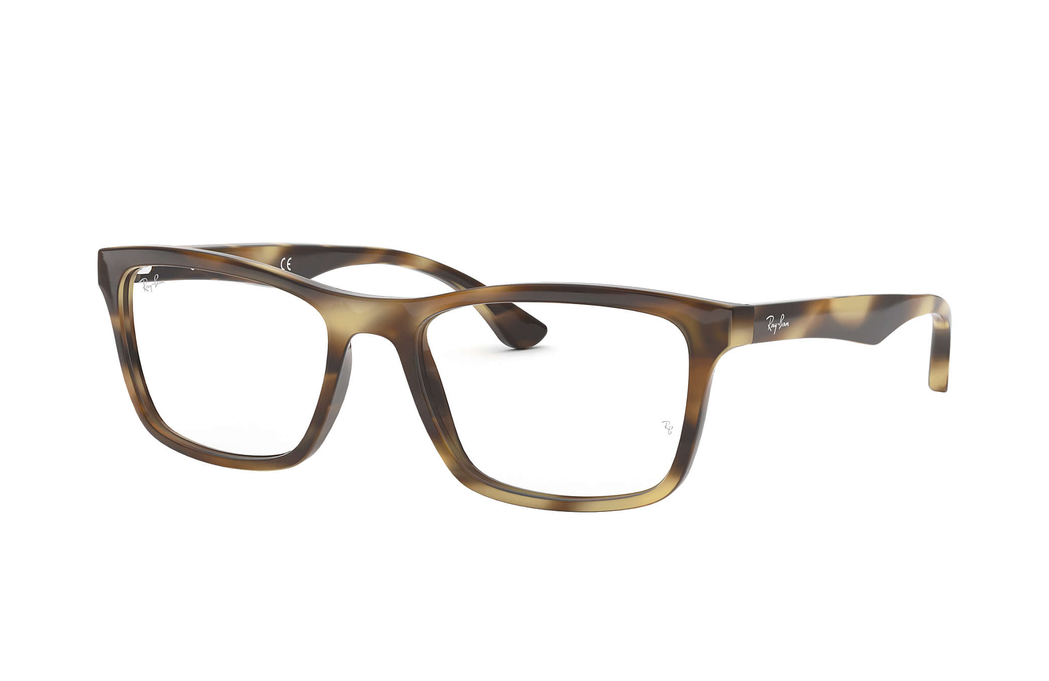 8df1a4affc Ray-Ban prescription glasses RB5279 Light Brown - Acetate ...