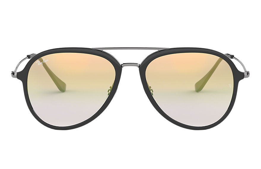 Ray-Ban RB4298 Grey with Gold Gradient lens