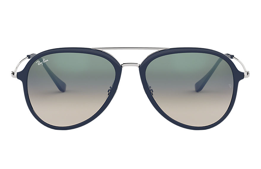 Ray-Ban RB4298 Blue with Green Gradient lens