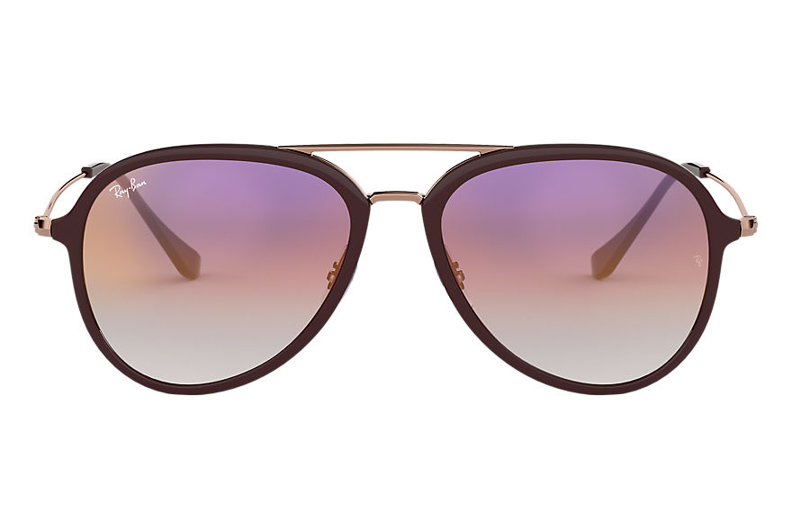 Ray-Ban Sunglasses RB4298 Brown with Violet Gradient lens