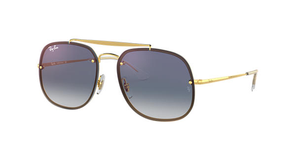 Blaze General Ray-Ban RB3583N Or - Steel - Verres Bleu - 0RB3583N001 X058    Ray-Ban® Belgique 72f0fa1442ae