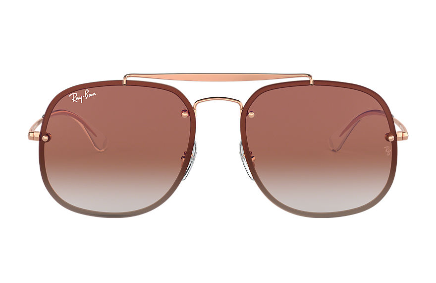 Ray-Ban  sunglasses RB3583N UNISEX 005 blaze general brons koper 8053672876833