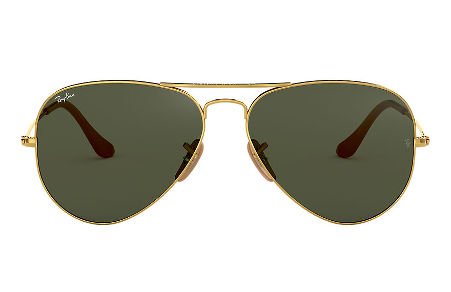 Ray-Ban  sonnenbrillen RB3025 MALE 007 aviator 1937 gold 8053672877311