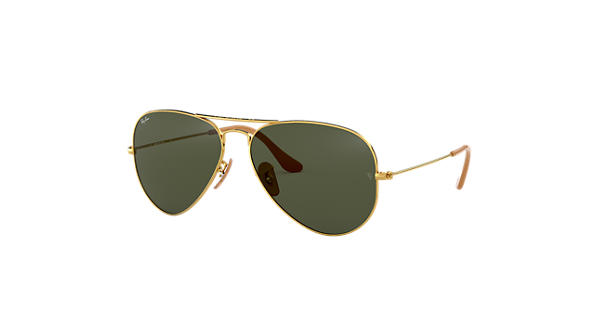 Ray-Ban Aviator 1937 RB3025 Gold - Metal - Green Lenses - 0RB3025001 3158  6852071c6