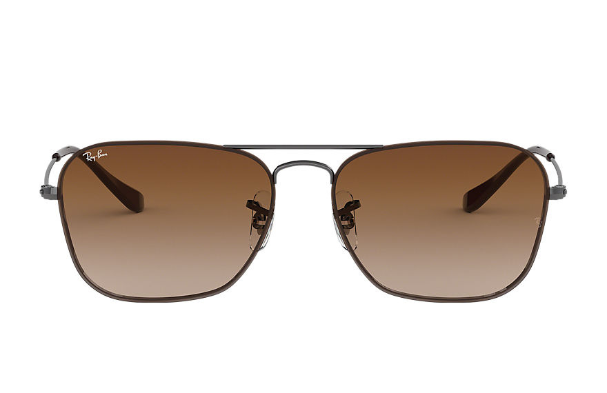 Ray-Ban Sunglasses RB3603 Gunmetal with Brown Gradient lens