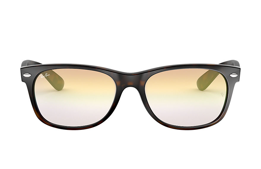 Ray-Ban  lunettes de soleil RB2132 UNISEX 006 new wayfarer flash gradient lenses havane 8053672878080